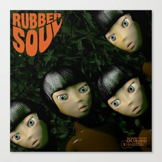 Rubber Soul Canvas Print