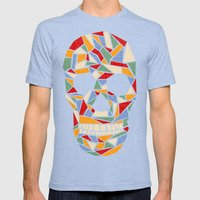 Shattered Daydream Mens Fitted Tee Tri-Blue SMALL