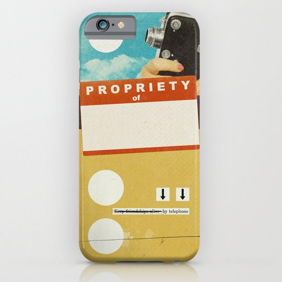 YOUR NAME HERE | Collage iPhone & iPod Case
