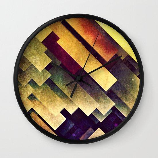 myy mysyry Wall Clock