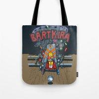 Bartkira throne Tote Bag