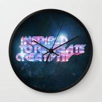 Inspired Recreativity. Wall Clock