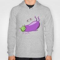 Eggplant Faceplant Hoody