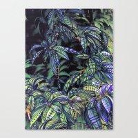 leaves evolved 4 Canvas Print