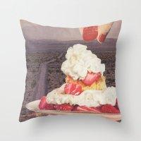 Des(s)ert Throw Pillow
