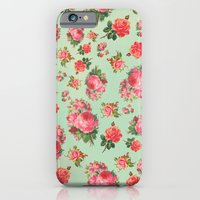 iPhone & iPod Case featuring FLORAL PATTERN by Allyson Johnson