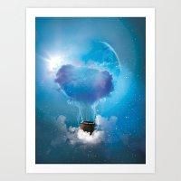 balloon Art Prints featuring Balloon by Julien Kaltnecker