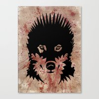 Iron Wolf Canvas Print