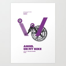 Bike to Life - AngelonmyBike Art Print