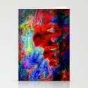 Psychedelic Pachyderms Stationery Cards