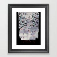Plush Heart Giveaway  Framed Art Print