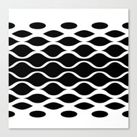 Subatomic Canvas Print
