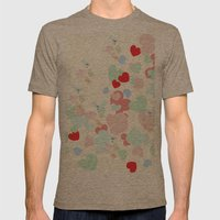 Hearts Mens Fitted Tee Tri-Coffee SMALL