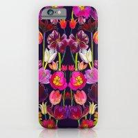 Pink and Orange Tulips iPhone 6 Slim Case