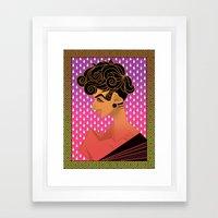 www Framed Art Print