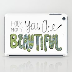Holy Moly You Are Beautiful! iPad Case