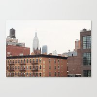 Empire State Building from the High Line Canvas Print