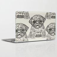 Persian Pug Laptop & iPad Skin