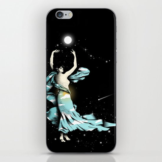 Dance Into The Moonlight iPhone & iPod Skin