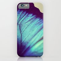 Black and Blue Wing iPhone 6 Slim Case