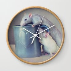 Jimmy and Snoozy Wall Clock