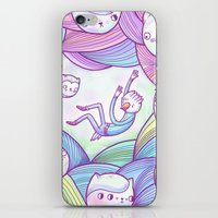 9 Temporary Concerns iPhone & iPod Skin