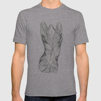What Lies Beneath  Mens Fitted Tee Athletic Grey SMALL
