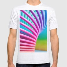 Rainbow Spring 3 Mens Fitted Tee Ash Grey SMALL