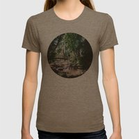 Greenery Womens Fitted Tee Tri-Coffee SMALL