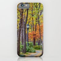 Walking into Autumn iPhone 6 Slim Case