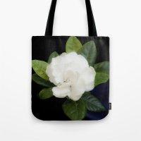Gardenia in the garden - free shipping Tote Bag