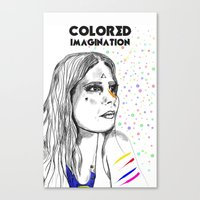 Colored Imagination #2 Canvas Print