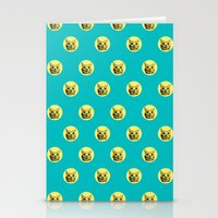 PURRFECT POLKA DOTS Stationery Cards