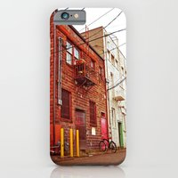 iPhone & iPod Case featuring Alley architecture by Vorona Photography