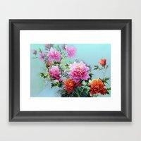 Smell The Roses Framed Art Print