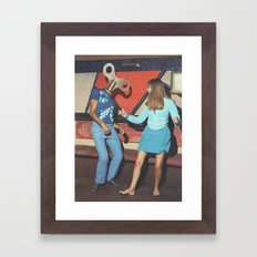 Danceophobia Framed Art Print