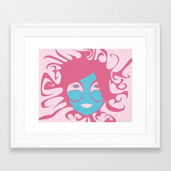 Bjork: All is Full of Love Framed Art Print