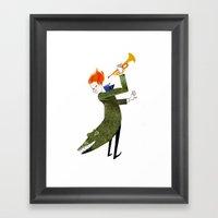 The Coat Tail Framed Art Print