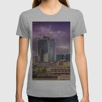 Cheese and Pickle Womens Fitted Tee Athletic Grey SMALL