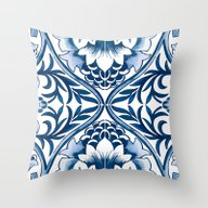 Azulejo Throw Pillow