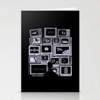 TV Addict Stationery Cards