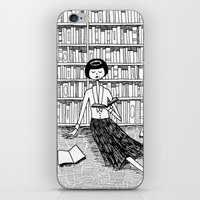 She Just Wanted To Read … iPhone & iPod Skin