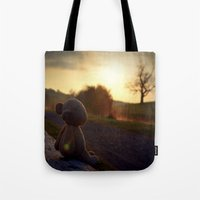 Palin At Dawn Tote Bag