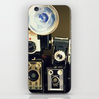 Vintage Camera Collectio… iPhone & iPod Skin