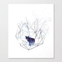 Organic prison Canvas Print
