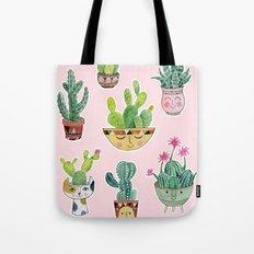 Cactus Pots Tote Bag