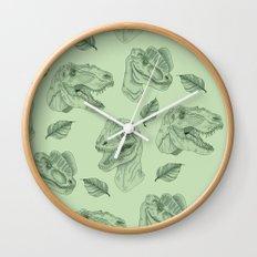Dino Damage Wall Clock