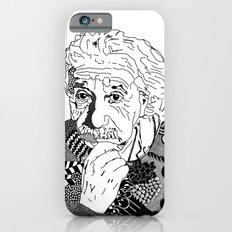 Albert Einstein - black and white Slim Case iPhone 6s