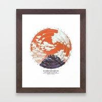 Base Camp Framed Art Print