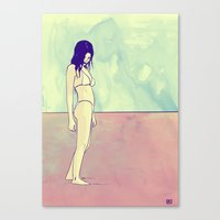 sad summer Canvas Print